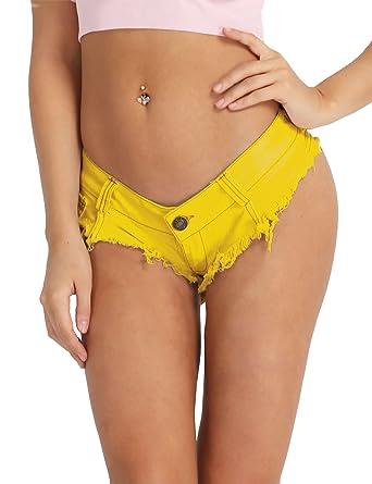Rabatt Großbritannien wie man wählt iEFiEL Damen Shorts Hotpants Unterwäsche Denim Panty Jeans ...