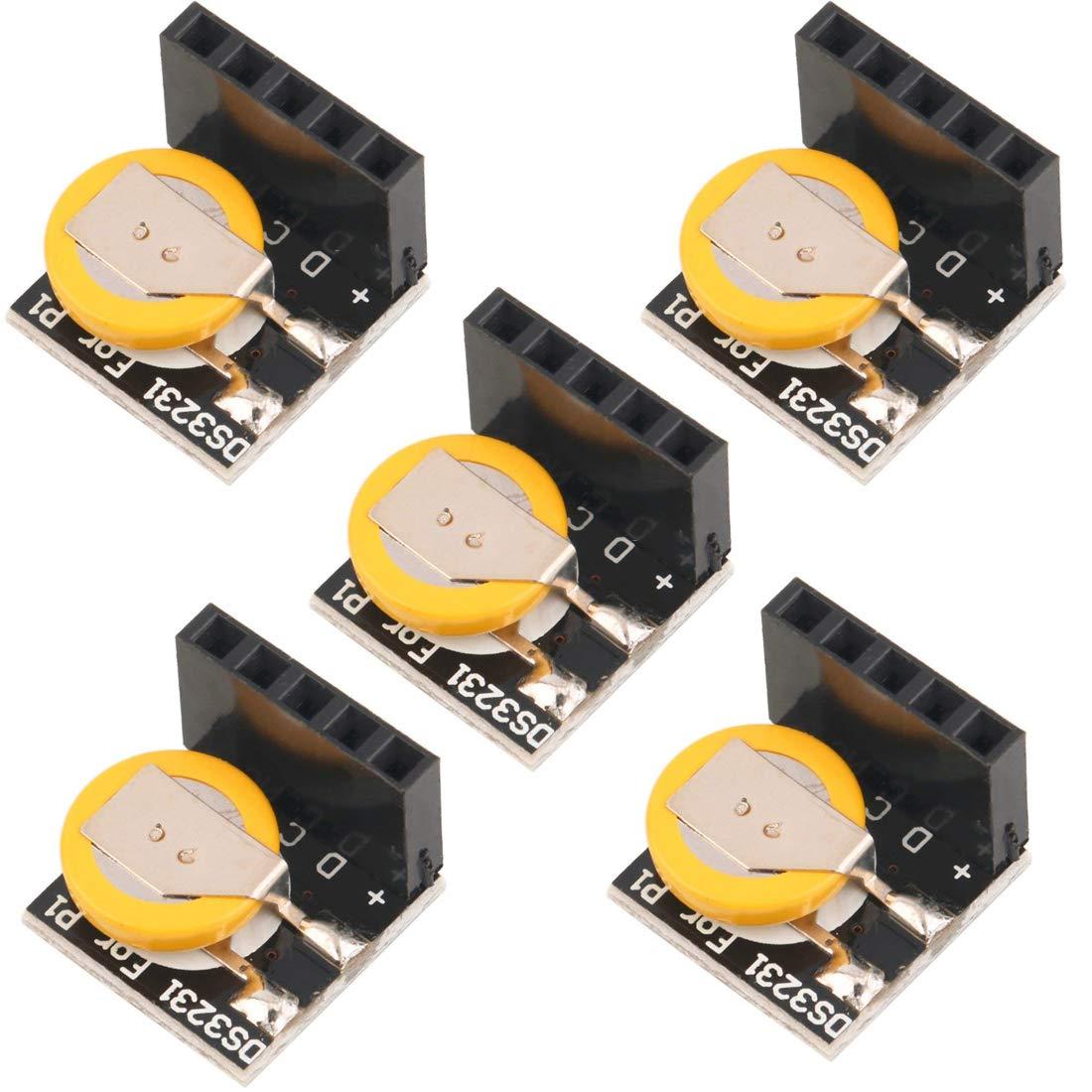 HiLetgo 5pcs DS3231 High Precision RTC Real Time Clock Module 3.3V/5V Arduino Raspberry Pi