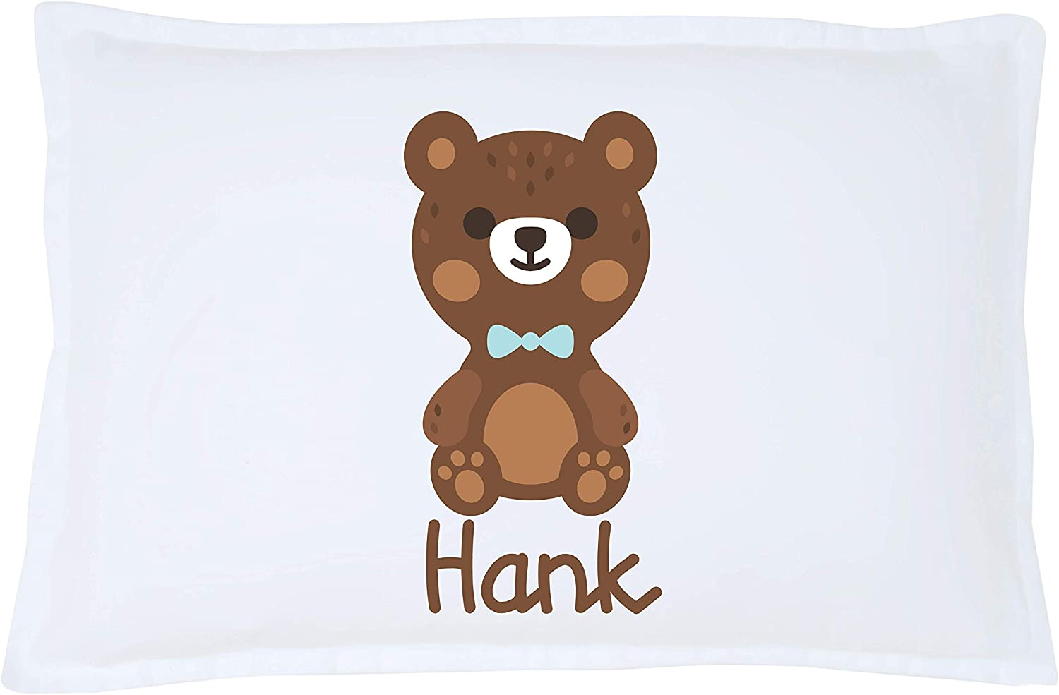 Personalized Pillows for Kids Microfiber Standard 20 x 30 inches Decorative Pillowcase Bear Coleman Personalized Pillowcase Gender Neutral Bedding Custom Pillowcases Personalized