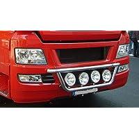 Percha de lámpara de acero inoxidable para camiones