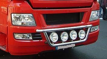 Universeller Edelstahl Lampenb/ügel XL f/ür Transporter LKW Off Road.