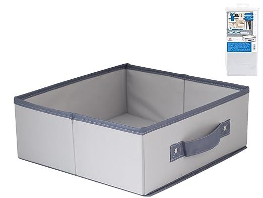 HOME - Caja de ordenación para cajón, 28 x 27 x 11 cm, Nailon ...