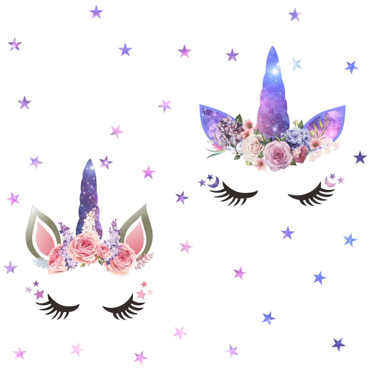 Vinilo Decorativo Pared [7DRQCQBY] unicornio