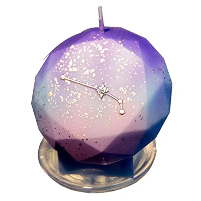 CHARMING Birthday Zodiac Candles Cake Candles for Birthday Festive Party Anniversary (Aries): Home & Kitchen