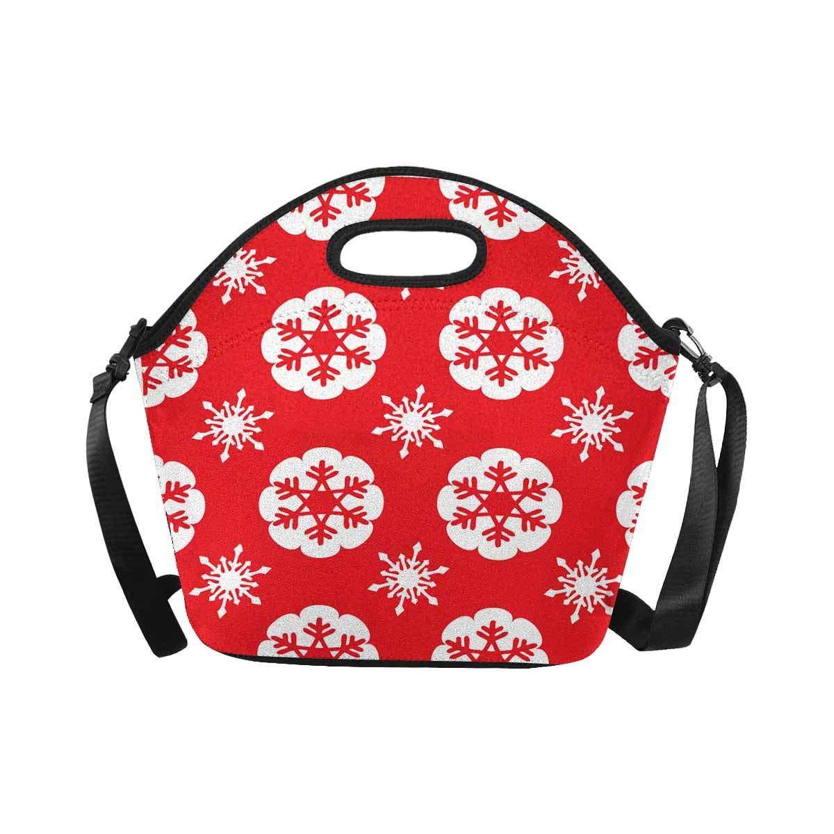 c89e2e612b5c Amazon.com: InterestPrint Insulated Neoprene Lunch Bag Christmas ...