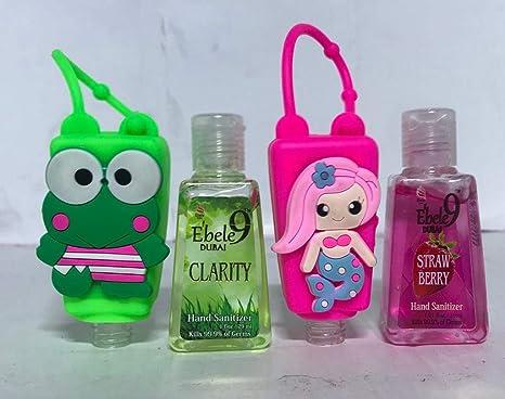 Buy Ebele9 Froggy Pink Mermaid Four 30ml Hand Sanitizer Bottles