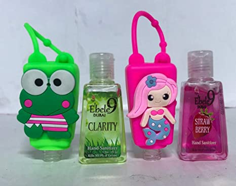 Buy Ebele9 Froggy Pink Mermaid Four 30ml Hand Sanitizer Bottles
