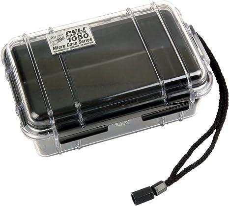 Pelican Micro Case 1050 - Caja de plástico: Amazon.es: Electrónica