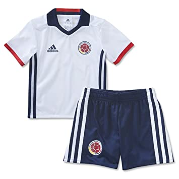 317cac034 2016 2017 Chilren Kid Youth Colombia DIY Name and Number Home Football Soccer  Jersey In White  Amazon.co.uk  Sports   Outdoors