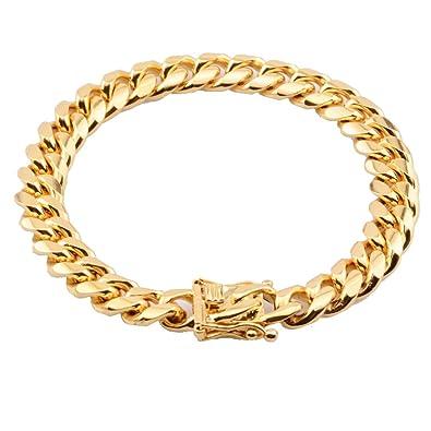 Amazon.com: Fans Jewelry - Pulsera para hombre de acero ...