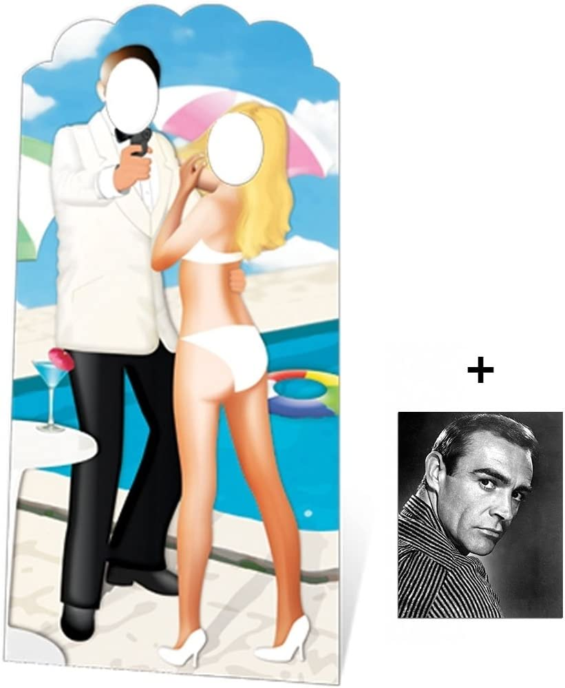 (Starstills UK) Fan Packs Secret Agent SPY Stand-in - LIFESIZE Cardboard Cutout (Standee/Standup) - Includes 8x10 (20x25cm) Star Photo 61KgSpRNJuL