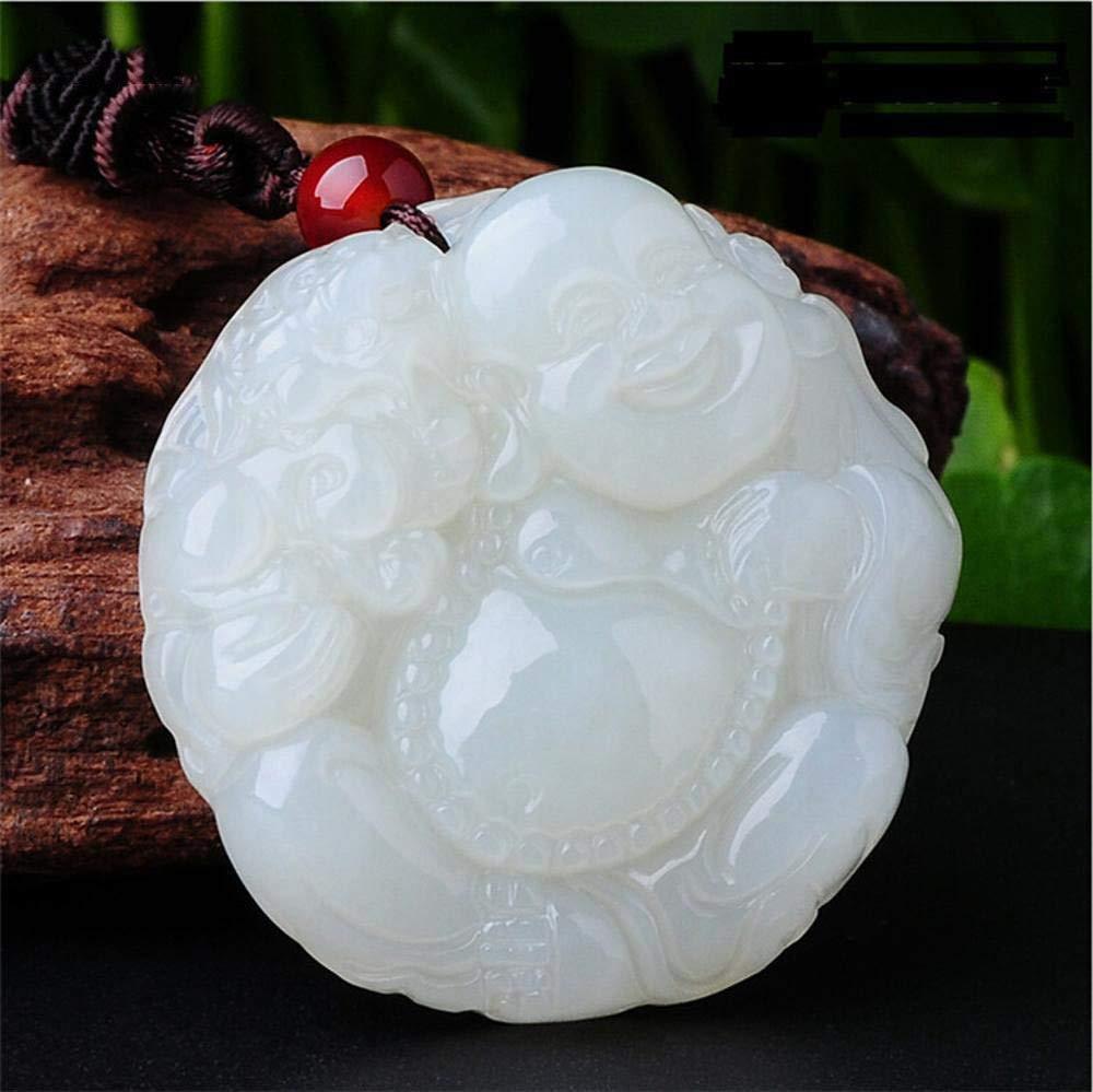 価格は安く 男性と女性の贈り物の間に翡翠の間に白い翡翠ペンダントの間にWeiduoliの自然なYumile仏 B07MK9WFHM B07MK9WFHM, 龍神村:da193577 --- a0267596.xsph.ru