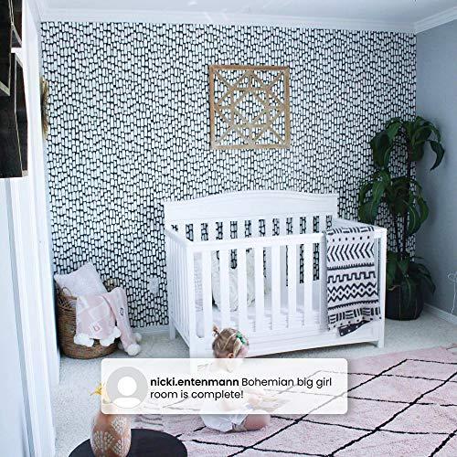 61KgU%2B0FSwL - Delta Children Emery 4-in-1 Convertible Baby Crib, White