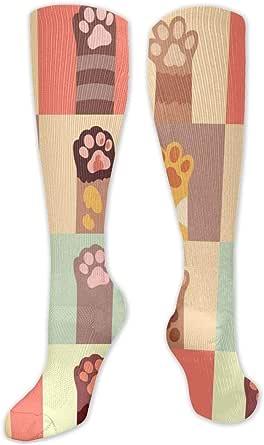 Regalo de Navidad calcetín pata de gato icono plano
