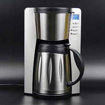 ZHAZHIJI Máquinas de café, máquinas de café Inteligentes, Reloj de Arena, casa Negocio, Aislamiento de Olla de Acero Inoxidable: Amazon.es: Hogar
