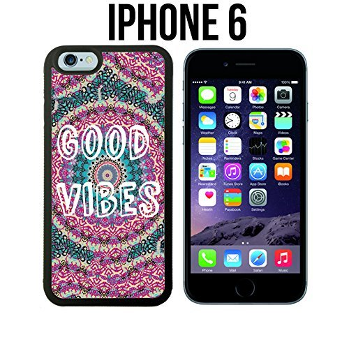 Good Vibes Trippy Hippie Pattern Custom made Case/Cover/Skin for iPhone