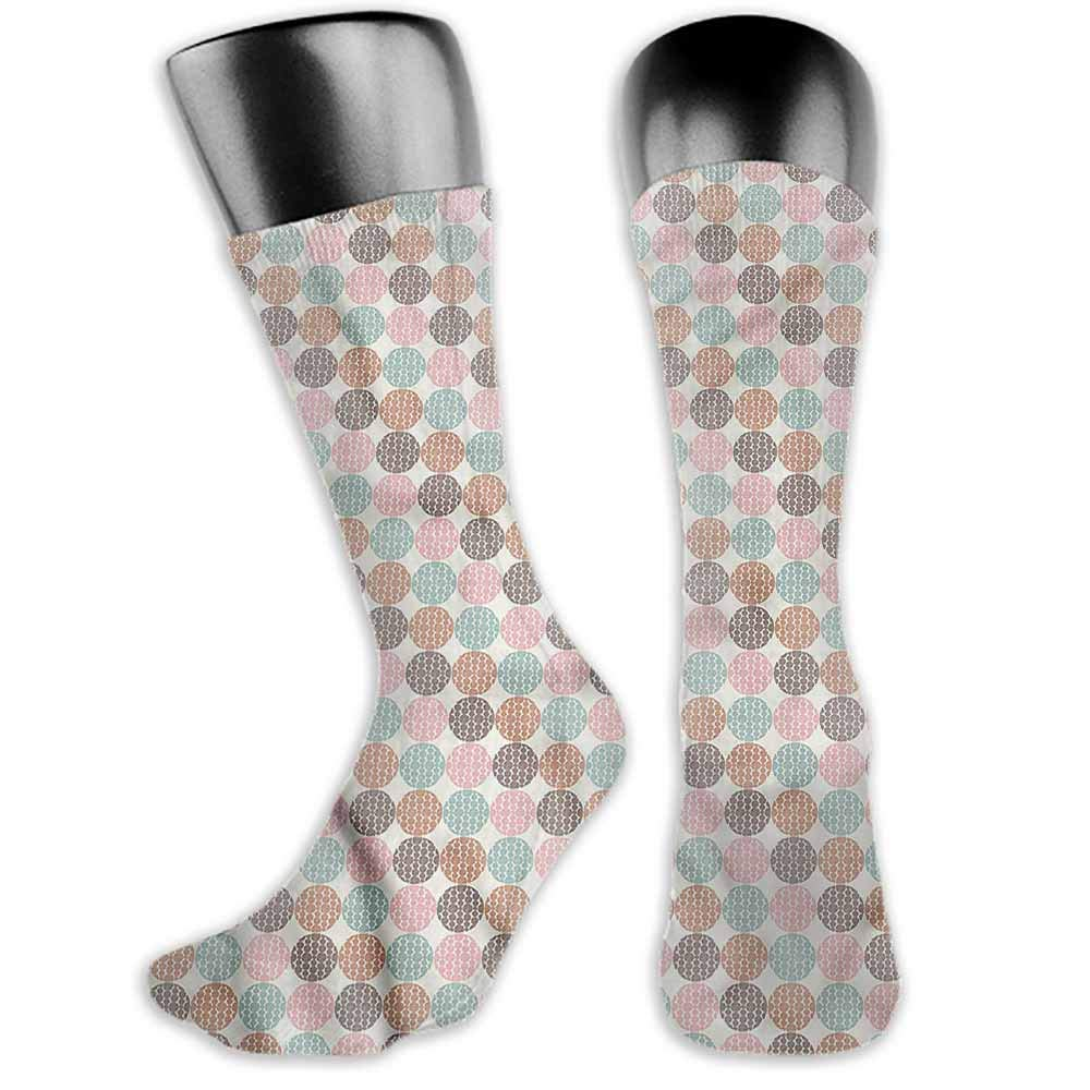 Super elastic socks Geometric,Grunge Puzzle Retro,socks women