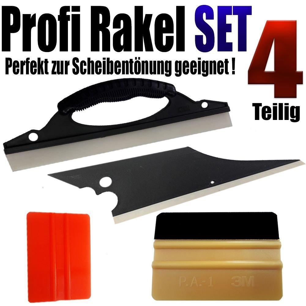 Profi Rakel Set 4-teilig1x 3M Gold Rakel +3 Spezialrakel perfekt Scheiben Tö nen www.leonfolien-shop.de