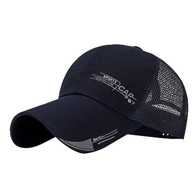 Dacawin-Hat Gorra de béisbol de Malla para Hombre, Tela de algodón ...