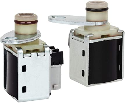 AUTEX 2pcs Transmission Shift A/&B Solenoids Compatible With GM 4L80E 1991-Up 24230288 10478147