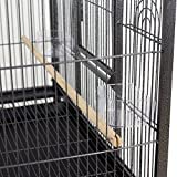 SUPER DEAL 53''/59.3''/63.5'' Rolling Bird Cage