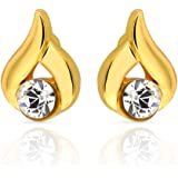 Mahi Daily Wear Fashion Stud Earring of Brass Alloy with crystal for Women ER1103681G