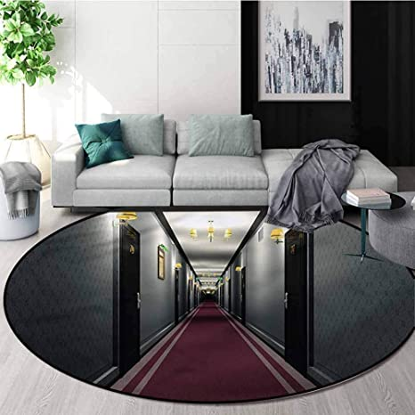 Amazon Com French Round Area Rugs Super Soft Living Room Fancy French Hotel Area Rug Perfect For Any Place Diameter 59 Home Kitchen