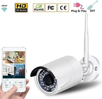 Amazon.com: Z-DYQ Full HD IP Camera, WiFi 2MP Yuntai 720P ...