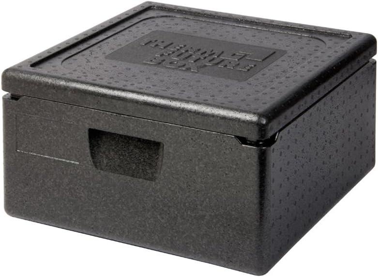 Nero Thermo Future Box Borsa per Il Trasporto e Isolante EPP 350 x 350 x 175 mm Polipropilene espanso