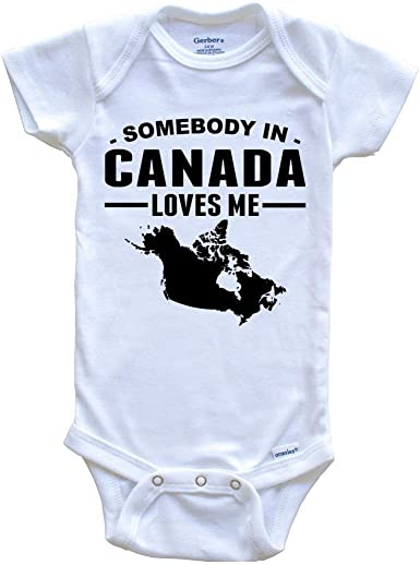 Kinacle Love Canadian Maple Leaf Baby//Toddler T-Shirt