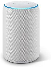 Certified Refurbished  Echo Plus (2nd Gen) - Premium sound with built-in smart home hub - Sandstone