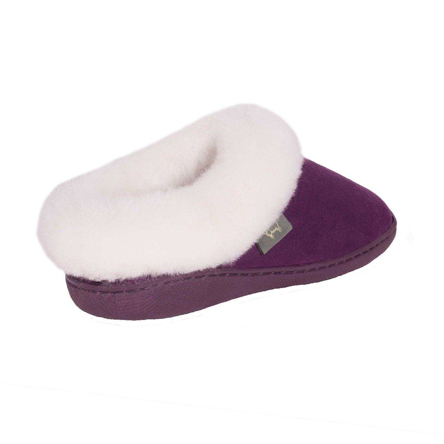 Cloud Nine Sheepskin Women's Sunrise Clog Slipper B01LSJQQJ0 10 B(M) US|Berry