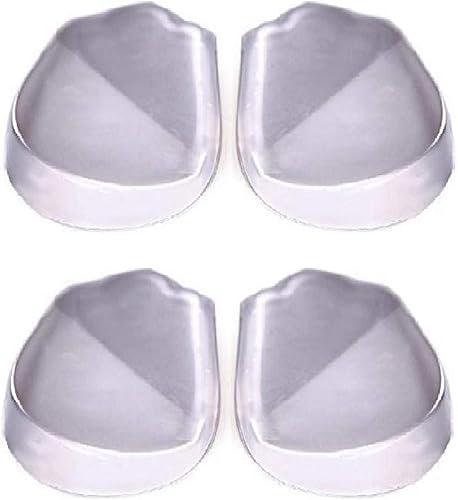 [まるまーと] 大須賀式 X脚 O脚 用 かかと インソール シリコン 衝撃吸収 靴 中敷 4枚 2足分 セット
