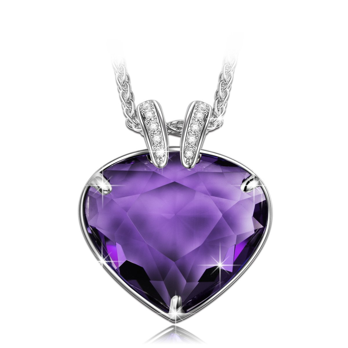 girls hypnodess set earring necklace shop and for ring purple heart her