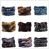 VANCROWN Headwear Wide Headbands Scarf Head Wrap Mask Neck Warmer by