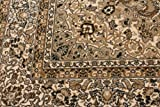 Beige Traditional Isfahan Dunes High Density 1 Inch