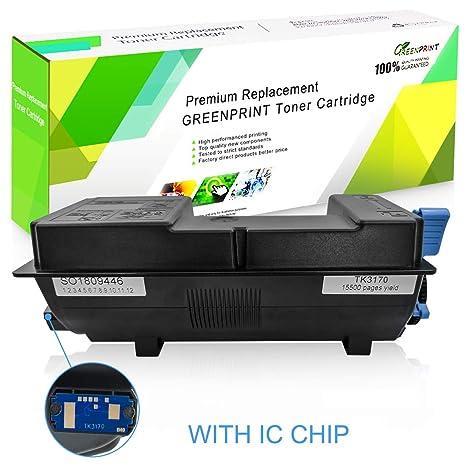 Cartucho de tóner Compatible Kyocera TK3170 TK-3170 Negro con Chip ...