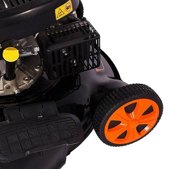 Groway GLM51 - Cortacésped a gasolina 200 cc con tracción, auto ...