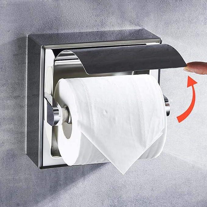 Portarrollos de papel higi/énico Amazing Durable acero inoxidable