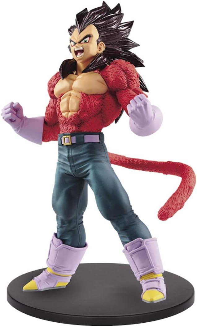 Amazon Com Banpresto 39415 Dragon Ball Gt Blood Of Saiyans Special Iv Figure Super Saiyan 4 Vegeta Multicolor Toys Games
