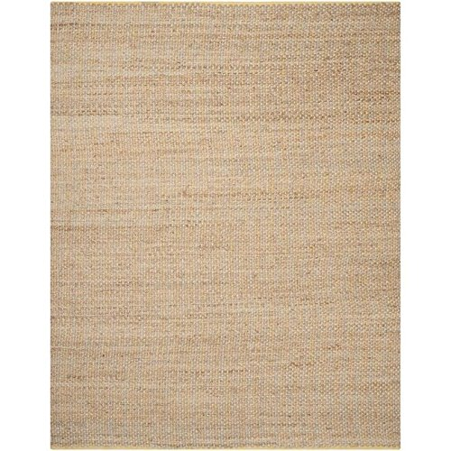 Traditional Rug - Cape Cod 80% Jute 20% Cotton -Yellow Yellow/Traditional/10'L x 8'W/Rectangle by Luos Cultural Goods