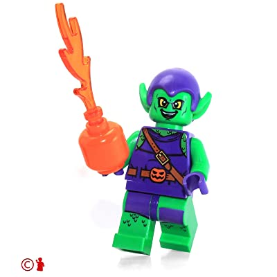 LEGO Super Heroes: Spider-Man Minifigure - Green Goblin (with Pumpkin Shooter) 10687: Toys & Games
