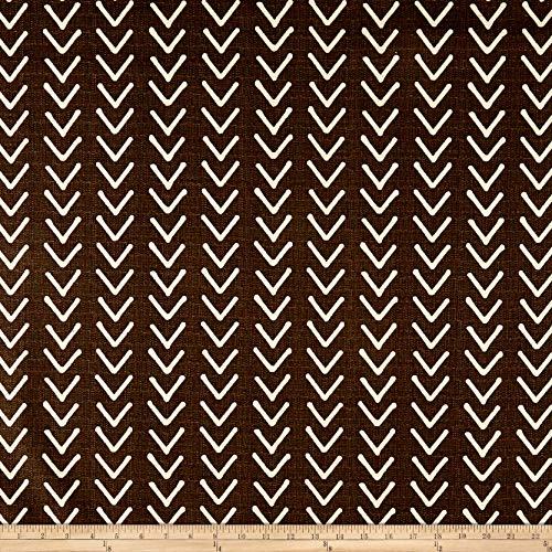 Premier Prints Boho Basketweave Fabric, Mud/Birch, Fabric By The Yard