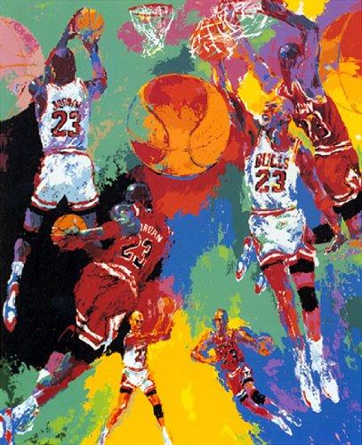 LeRoy Neiman Michael Jordan Art Print Poster
