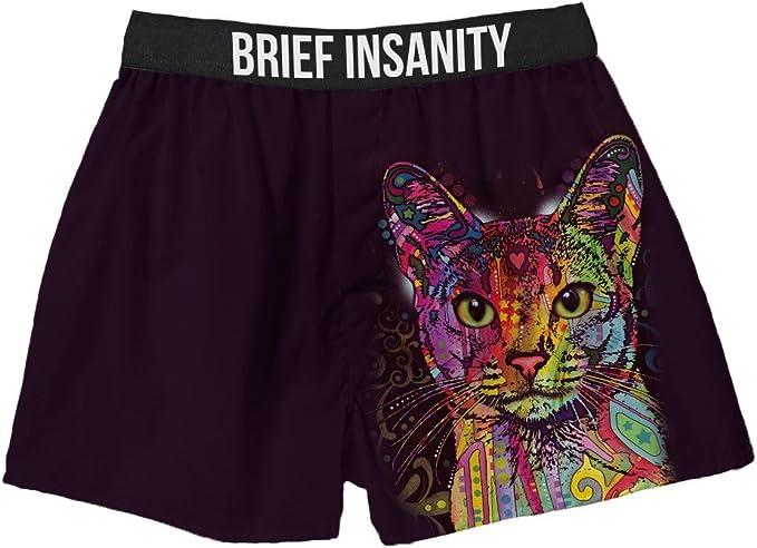 Brief Insanity Cat Russo Mens Boxer Shorts Commando Underwear