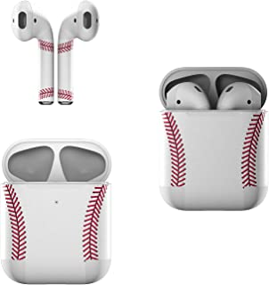 product image for Skin Decals for Apple AirPods - Baseball - Sticker Wrap Fits 1st and 2nd Generation