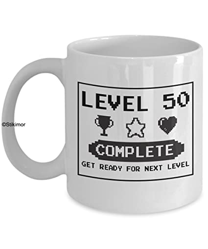Happy 50th Birthday Mug Gaming Geek 1967