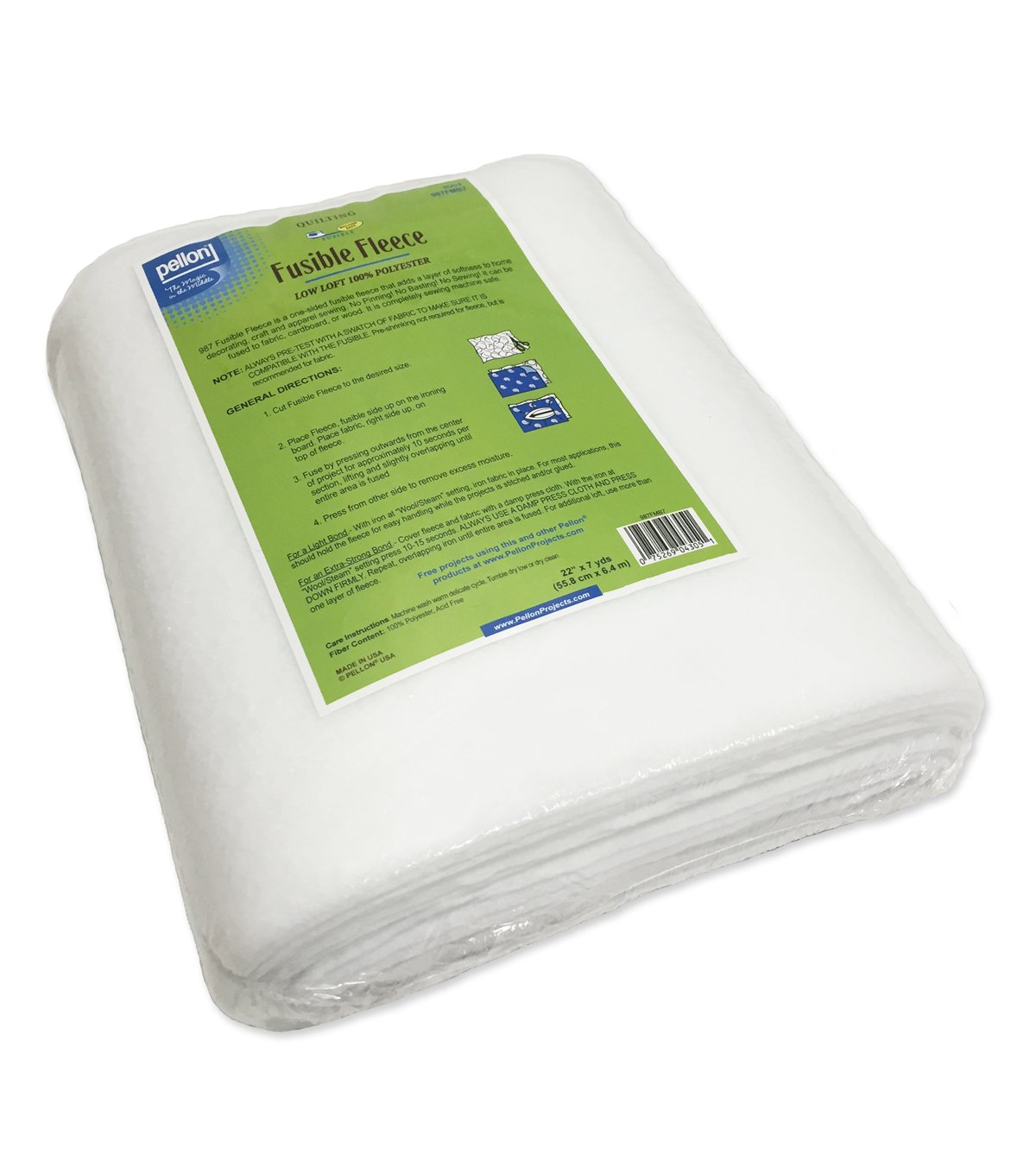 Pellon 987F Fusible Fleece Mini Bolt 22