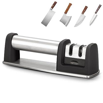 Amazon.com: Allytech Knife Sharpener, Manual Stainless Steel ...
