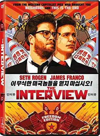 Amazon Com The Interview James Franco Seth Rogen Lizzy Caplan Randall Park Diana Bang Timothy Simons Evan Goldberg Seth Rogen Evan Goldberg James Weaver Seth Rogen Columbia Pictures Movies Tv